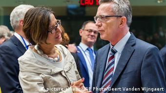 EU Minister Brüssel Treffen Belgien Innenminister Thomas de Maiziere Österreich Johanna Mikl-Leitner
