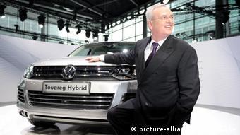 Deutschland Volkswagen Martin Winterkorn