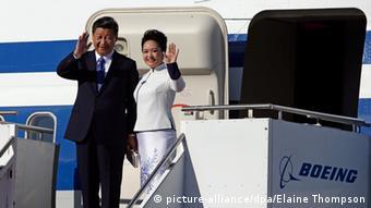 Xi Jinping Peng Liyuan USA Seattle Besuch
