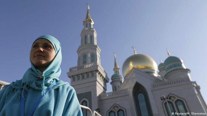Eröffnung der größten Moschee in Europa (Foto: Reuters)