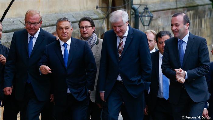 Deutschland Ungarn Seehofer und Orban