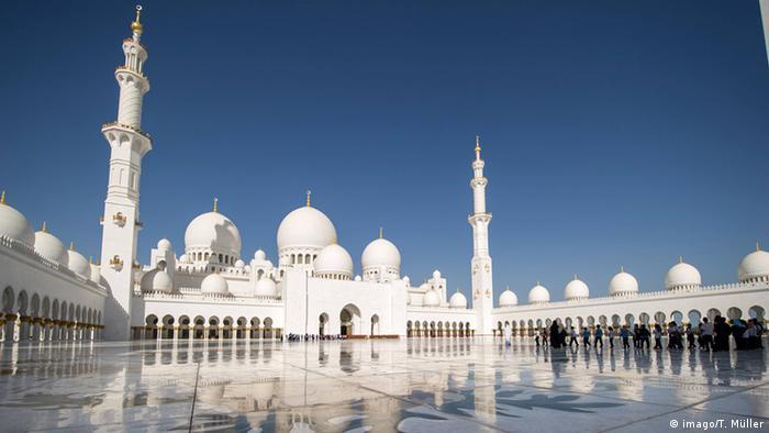 Vereinigte Arabische Emirate Scheich Zayed Moschee in Abu Dhabi