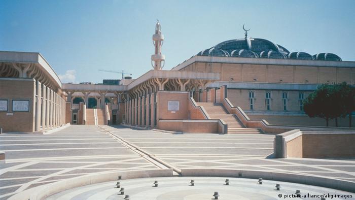 Italien Große Moschee auf Monte Antenne in Rom (Foto: picture-alliance/akg-images)