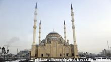 Tschetschenien Achmat Kadyrow Moschee in Grozny