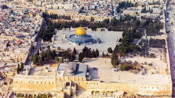 Der Tempelberg mit Felsendom und Al-Aksa-Moschee (Foto: CPA-Media)