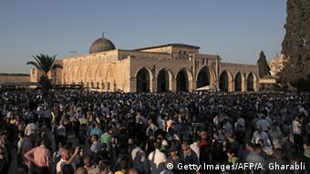 Israel Al Aqsa Moschee in Jerusalem