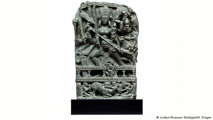 The Durga-Statue that will be returned to India (Photo: Linden Museum, Stuttgart)