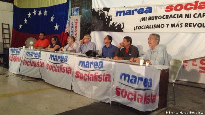 En Venezuela, la oposición no sólo es ejercida por partidos antichavistas, sino también por chavistas no maduristas.