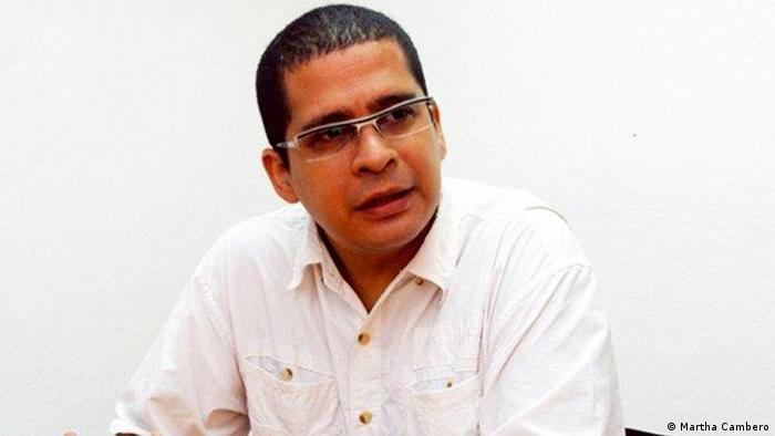 Venezuela Politikwissenschaftler Nicmer Evans (Martha Cambero)