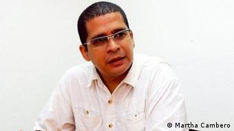 El politólogo venezolano Nicmer Evans, vocero de la organización chavista no madurista Marea Socialista.