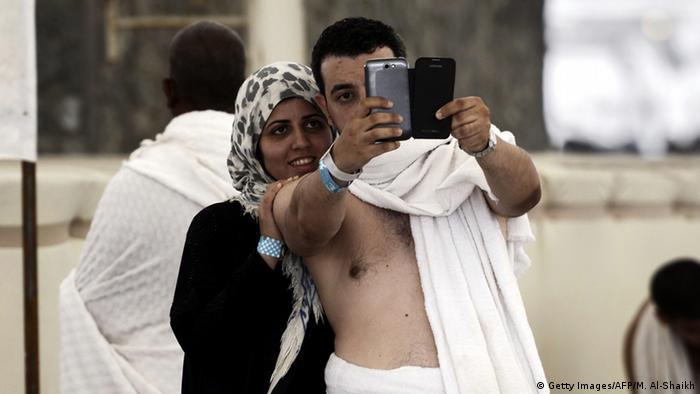 Symbolbild - Hajj Selfie