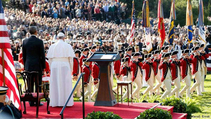 USA Washington Besuch Papst Franziskus mit Obama