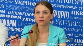 Киевский эксперт Мария Золкина