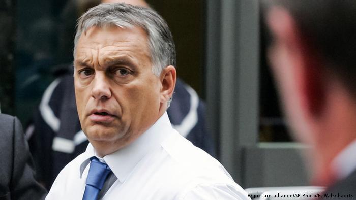 Премьер-министр Венгрии Виктор Орбан, 23 сентября 2015 года