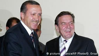 Gerhard Schröder and Erdogan