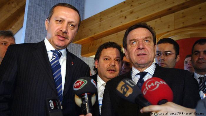 Symbolbild - Gerhard Schröder und Tayyip Erdogan
