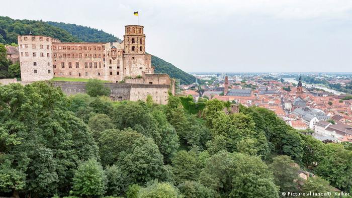 Ruínas do castelo de Heidelberg
