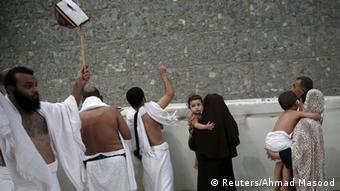 Saudi Arabien Hadj Mina Steinigung Satan Pilger Mekka Eid al-Adha