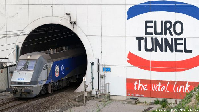 A Eurotunnel train (Getty Images/AFP/D. Charlet)