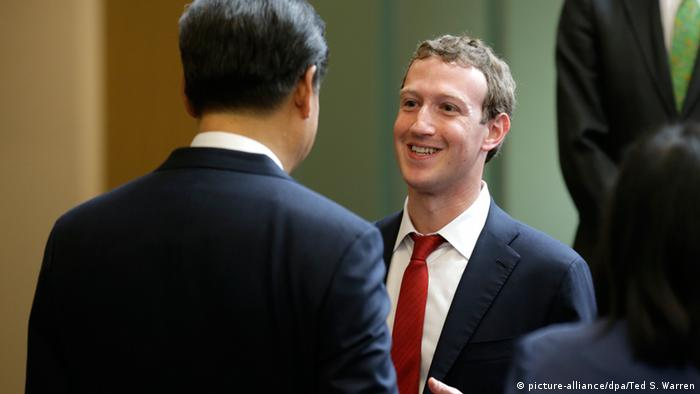 US China Internet Industrie Forum Seattle Xi Jinping Redmond Microsoft Campus Mark Zuckerberg