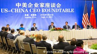 USA Xi Jinping CEO Runder Tisch Seattle