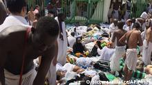 Saudi-Arabien Hadsch Massenpanik in Mina