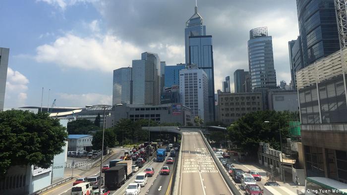 Bildergalerie ein Jahr nach Regenschirm-Bewegung in HK