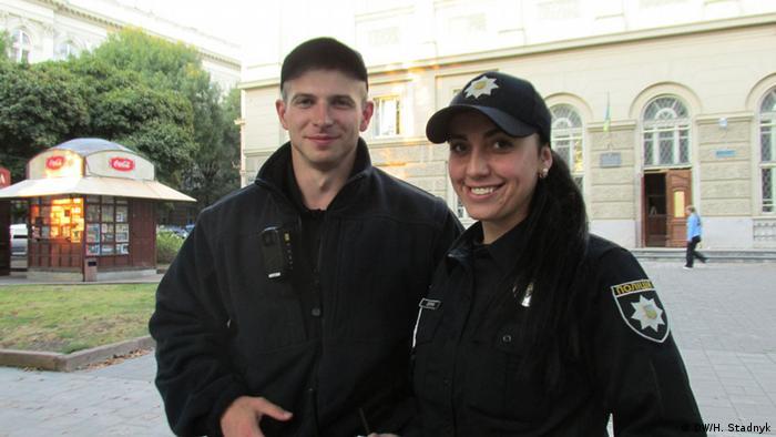 Молоді обличчя нової поліції Львова: Вікторія Петрик і Ростислав Витвицький