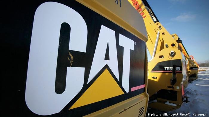 Među ukradenim bagerima je bilo i onih tvrtke Caterpilar (picture-alliance/AP Photo/C. Neibergall)
