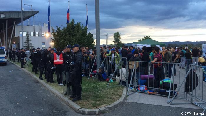 Kroatien Flüchtlings-Drama