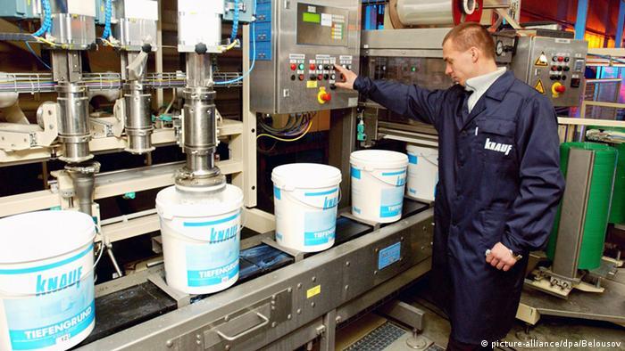 Российское предприятие немецкого производителя строительных материалов Knauf. Фото из архива