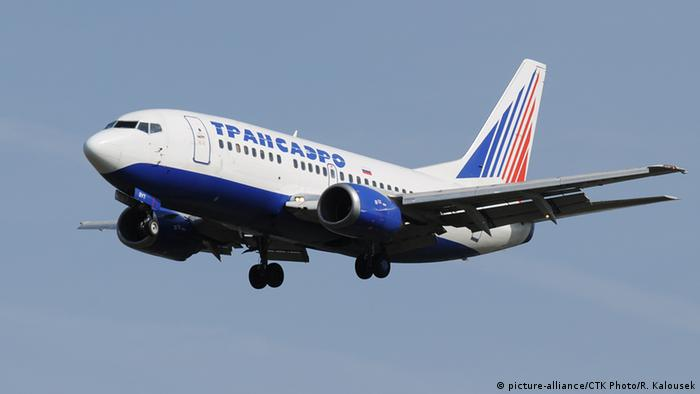 Боинг 737 авиакомпании Transaero