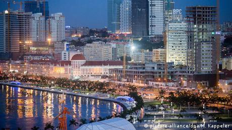 Angola Luanda Uferstraße Skyline
