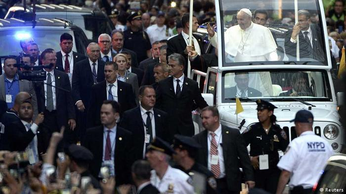 Papst in New York