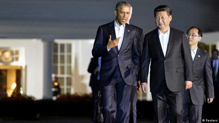 Barack Obama und Xi Jinping (Reuters)
