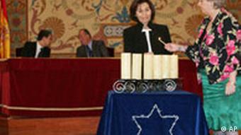 Holocaust Gedenktag Spanien