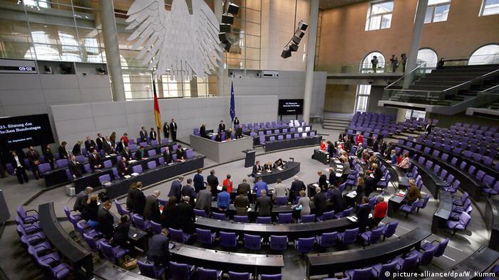 Deutschland Bundestag Gedenken an Mekka Opfer
