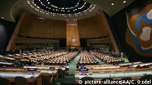 USA UN New York Vollversammlung der Vereinten Nationen Gebäude Saal