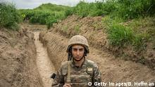 Bergkarabach Grenze zu Aserbaidschan