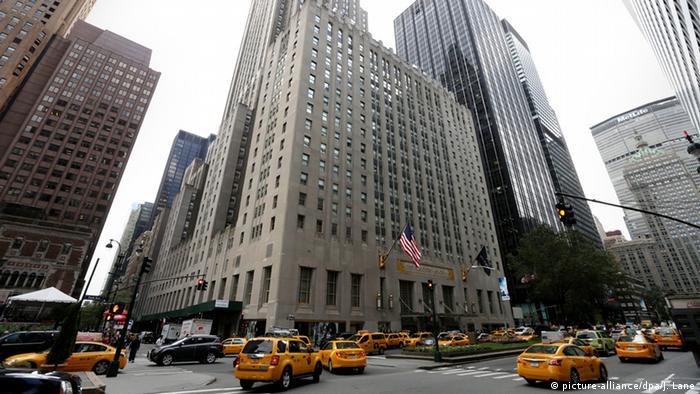 USA Hotel Waldorf Astoria in New York