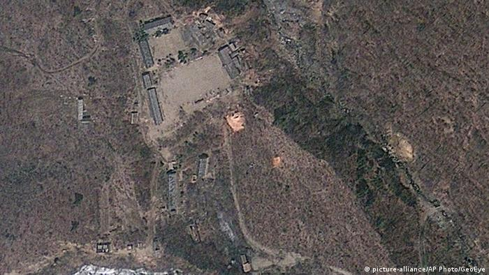 Nordkorea Atomanlage Punggye-ri (picture-alliance/AP Photo/GeoEye)