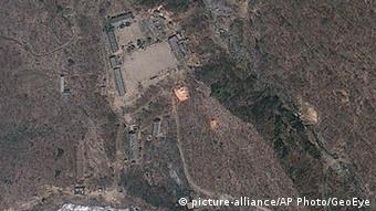 Nordkorea Atomanlage Punggye-Ri (picture-alliance/AP Photo/GeoEye)