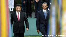 USA China Präsident Xi Jinping bei Barack Obama in Washington