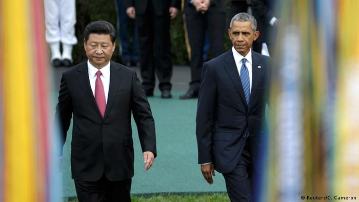 China's president Xi Jinping (left) and US president Barack Obama (Photo: Reuters)