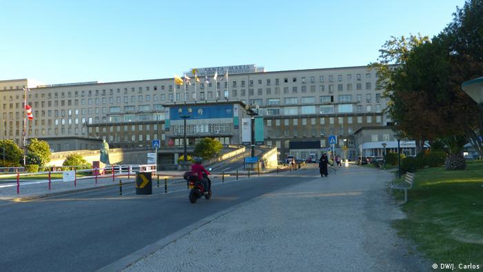 Foto ilustrativa: Hospital de Santa Maria, em Lisboa.