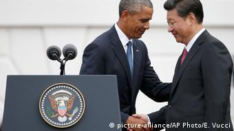 Xi Jinping und Barack Obama in Washington