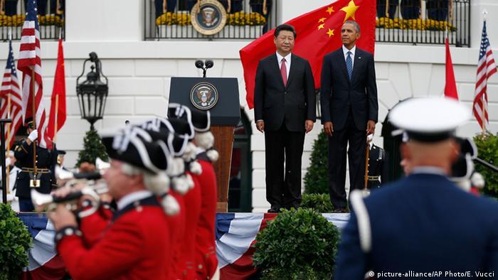 Xi Jinping und Barack Obama in Washington