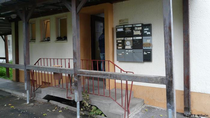Flüchtlingsheim in Bornheim (Foto: DW/Wilhelm)
