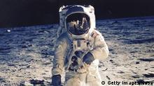 Mythos Mond Bildergalerie Astronaut Edwin E. Aldrin