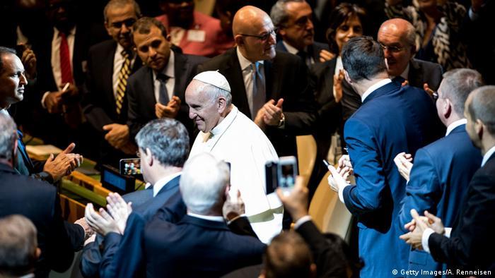 Papst Franziskus UN Rede